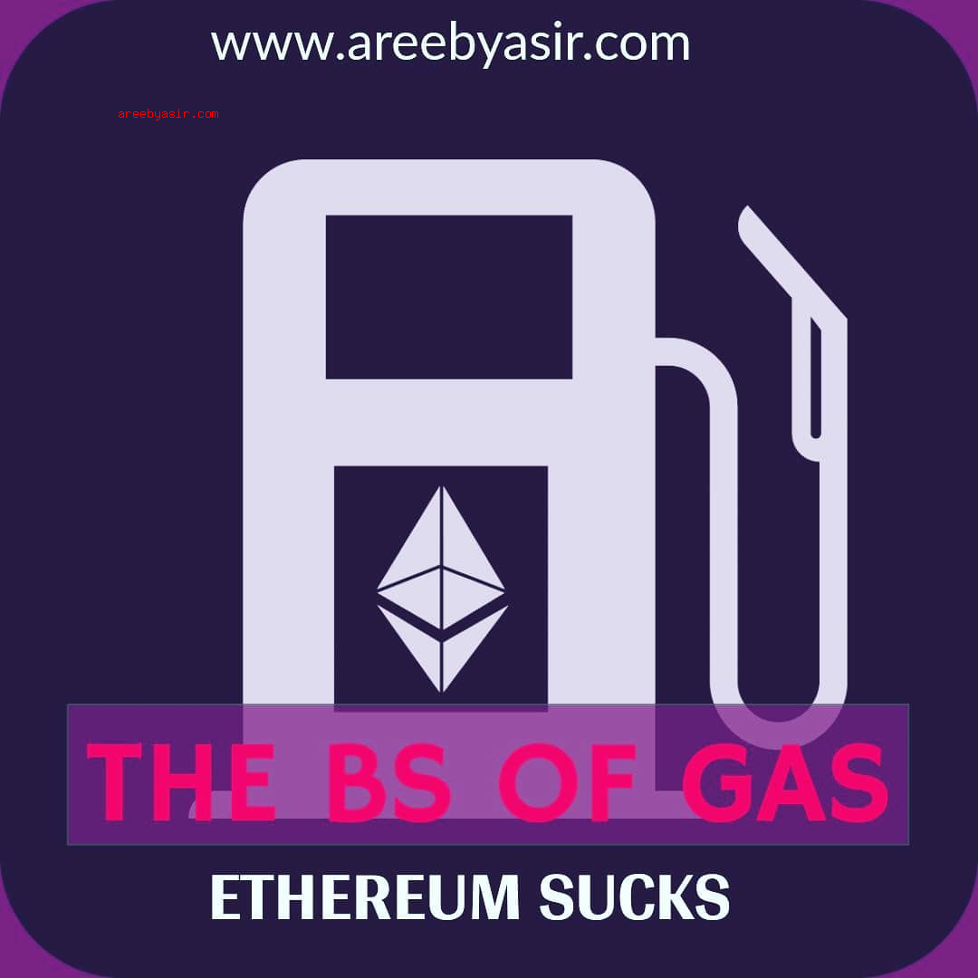 Ethereum High Transaction Fees/Gas, Tokens and Exchanges = Bad Investment