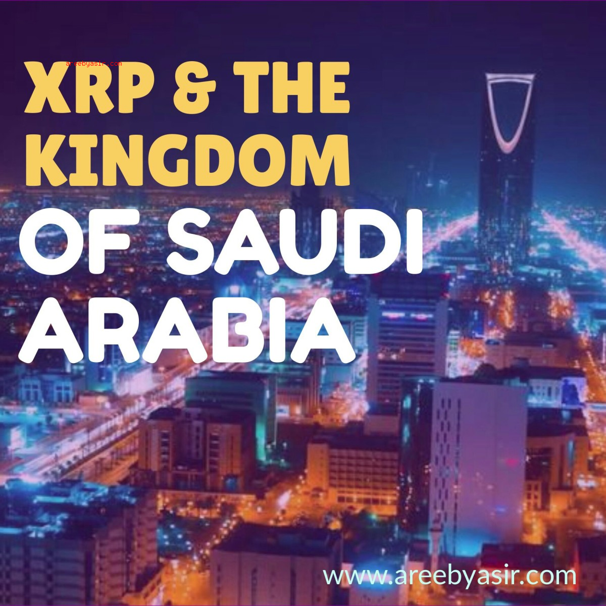 Ripple's First Central Bank Contract with Saudi Arabia!