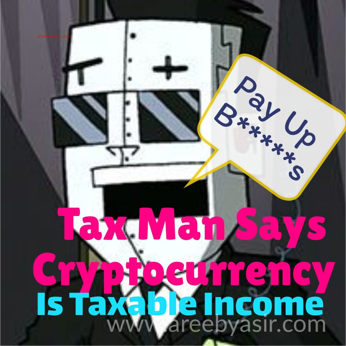 IRS / US Taxman Says Cryptocurrency Income IS Taxable