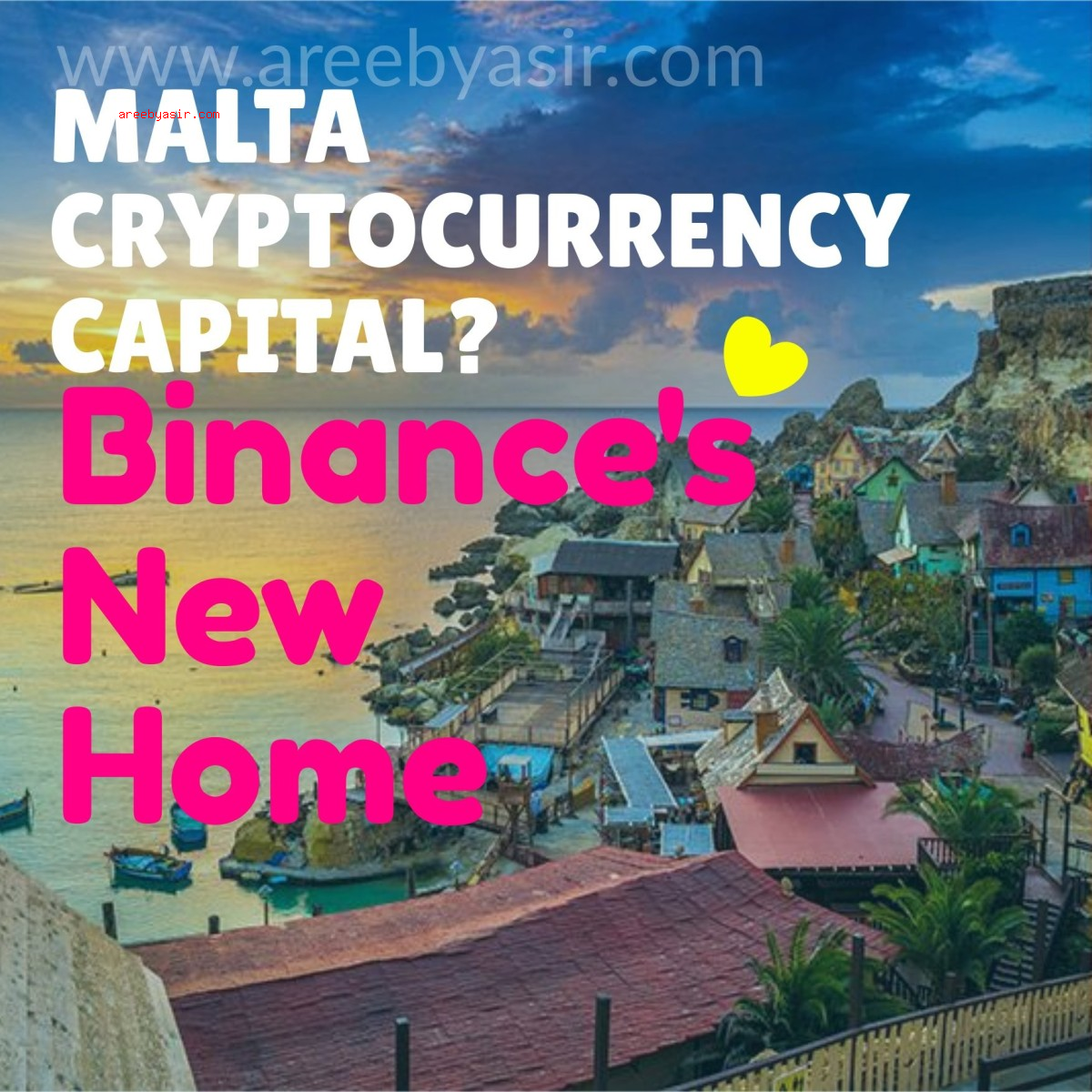Binance Moves HQ to a Welcoming Country of Malta