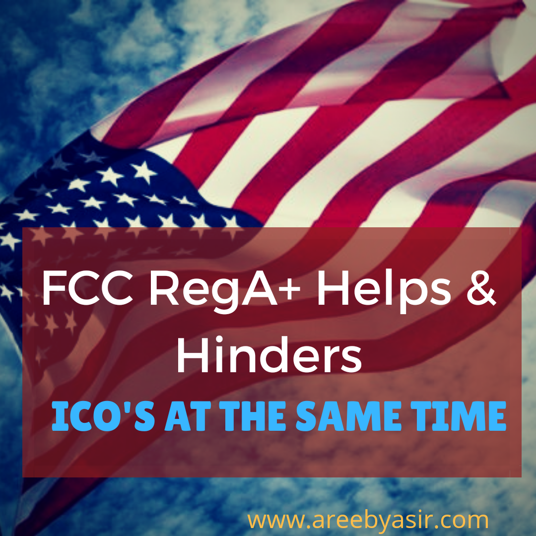 SEC Helps and Hinders ICO's with Reg-A+