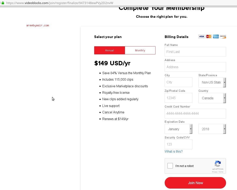 Videoblocks-scam