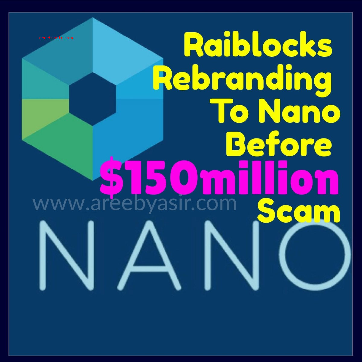 Nano AKA Raiblocks XRB and Bitgrail Scam $150M Lost!