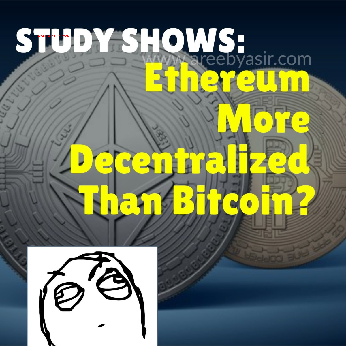 Study Shows Bitcoin Is More Centralized Than Ethereum
