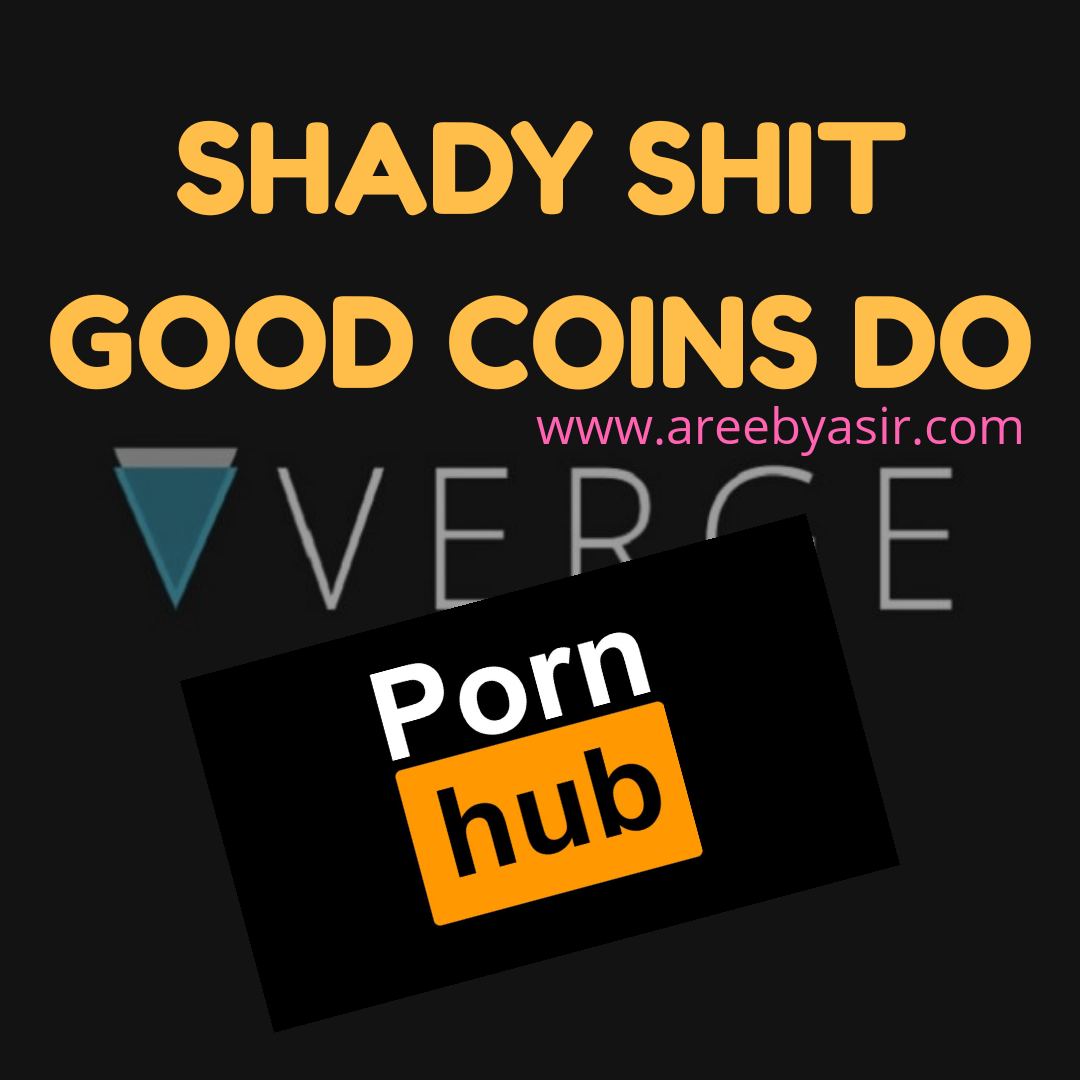 Verge Coin Asks For More Money – Shady Things Coins Do