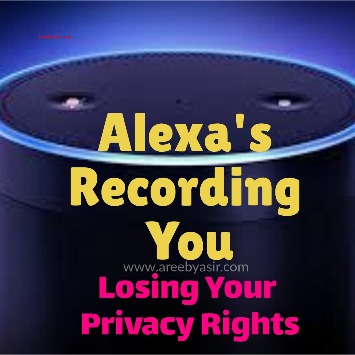 Amazon's Alexa AI Assistant Spies On You!