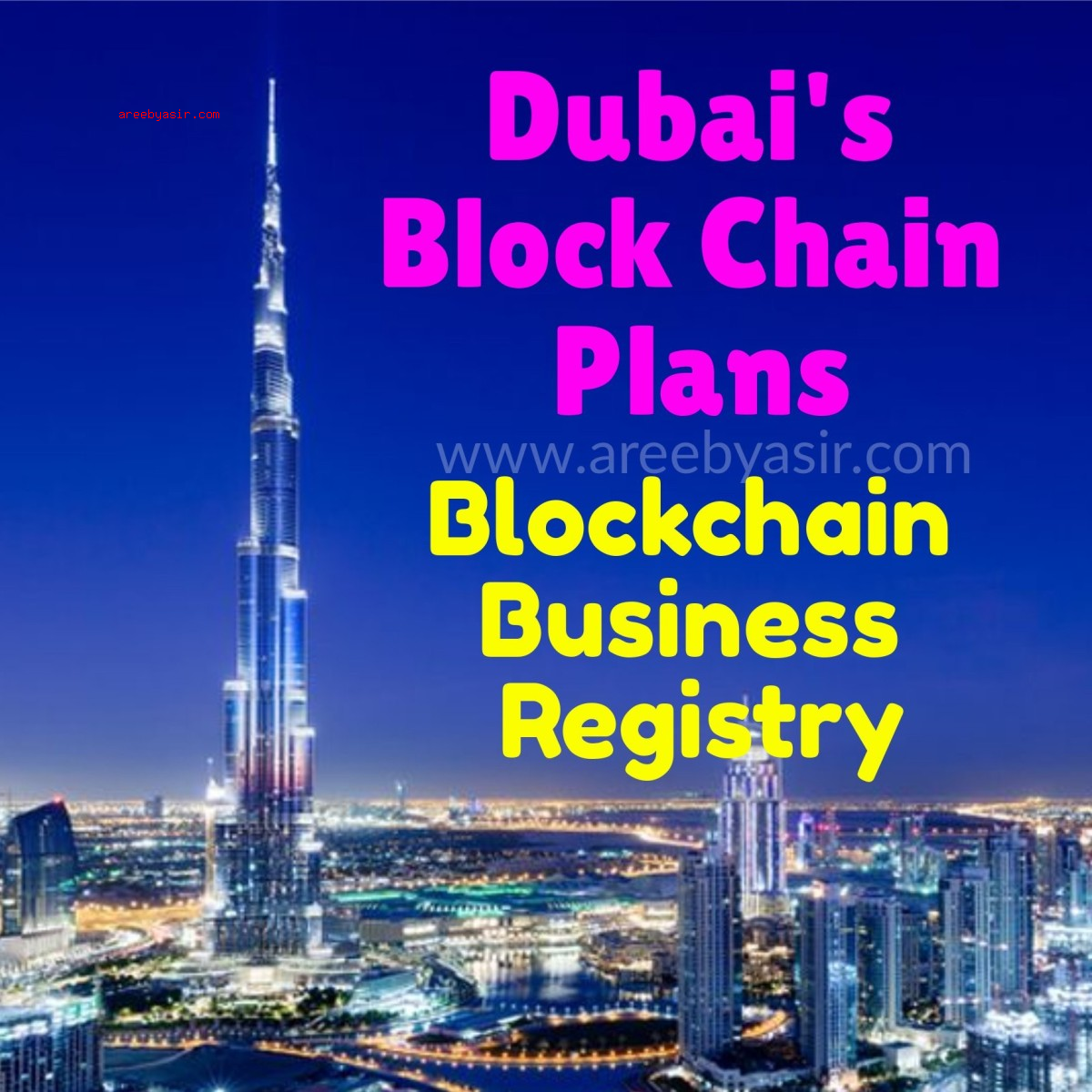 Dubai-Creates-Business-Blockchain-Registry