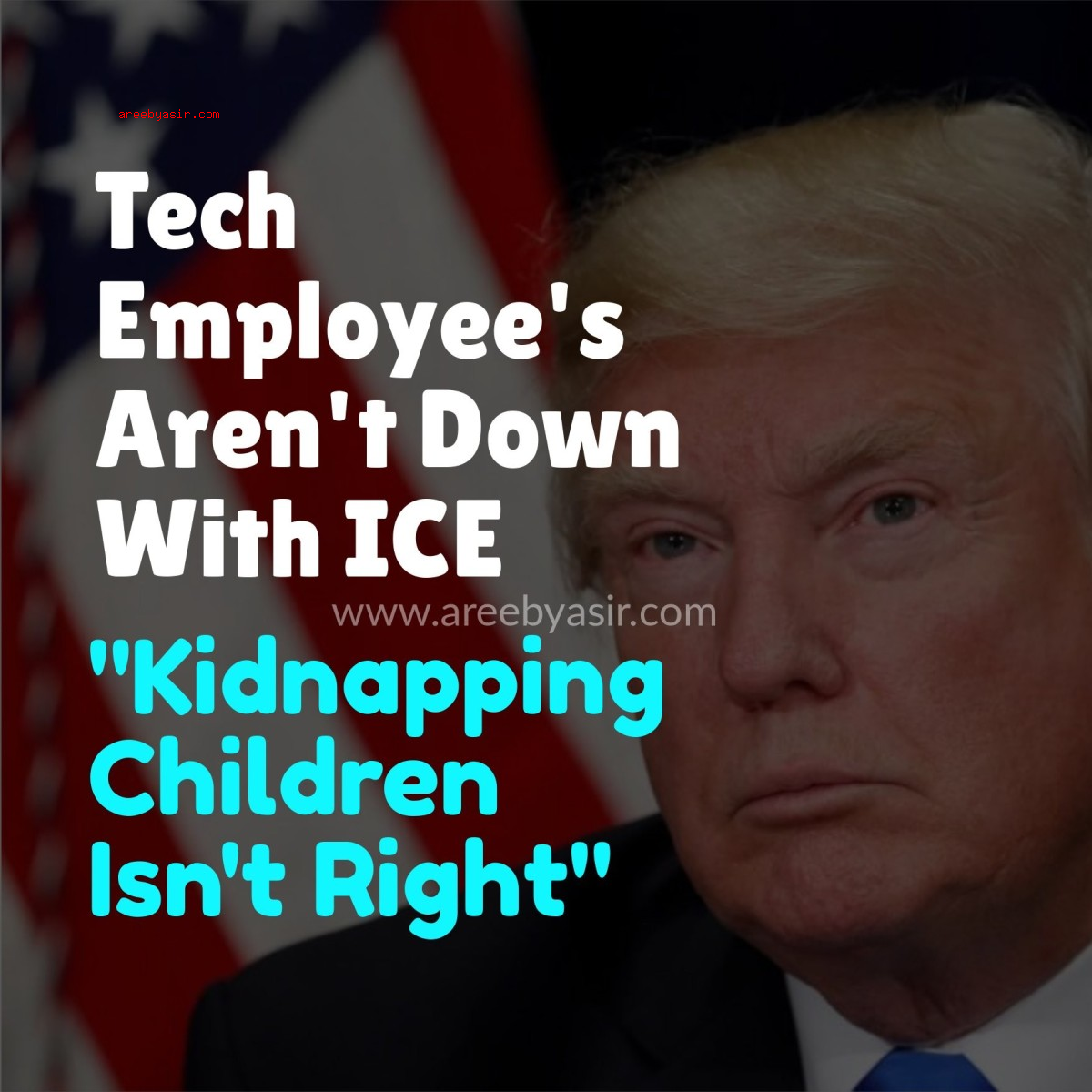 Tech Employee's Aren't Down With ICE