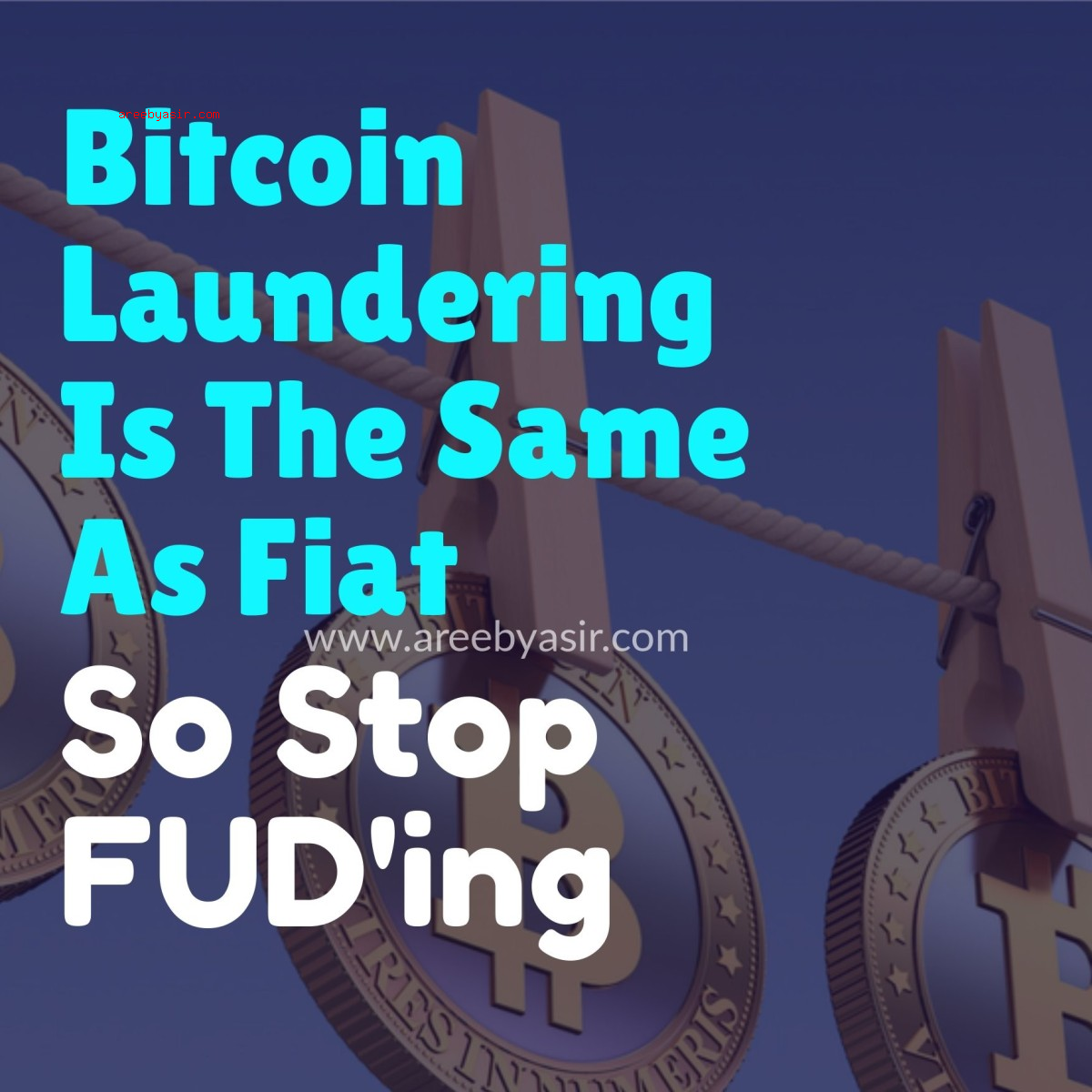 The Truth About Laundering Bitcoin