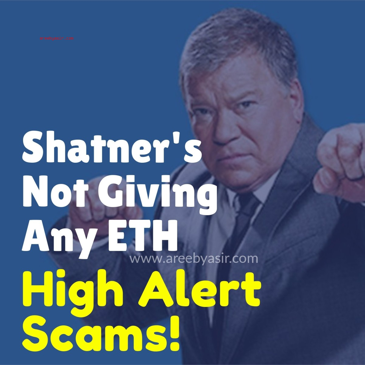 Shatner's Not Giving ETH