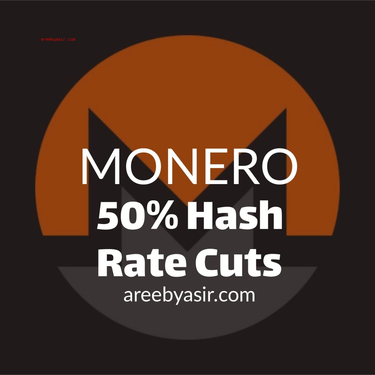 Monero lost more than 50% of its network hash rate