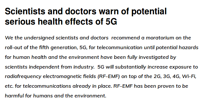 Health risks of having 5G technology released. Scientists warn.