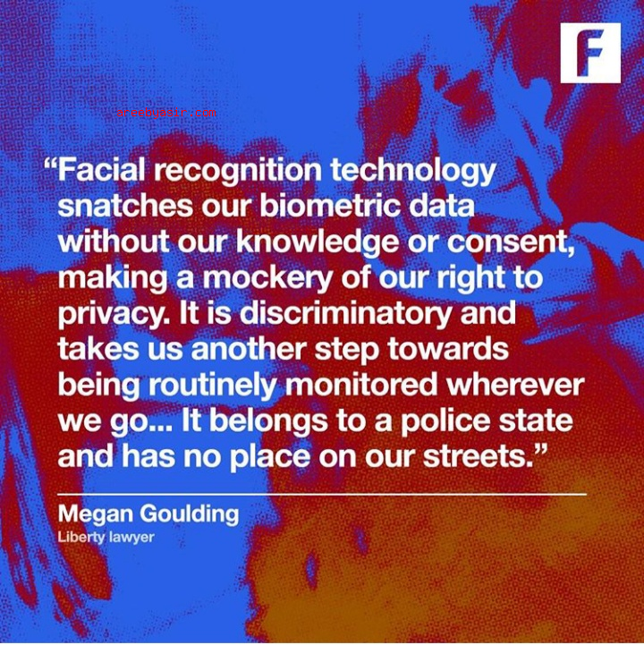 Facial recognition abuses your right to privacy
