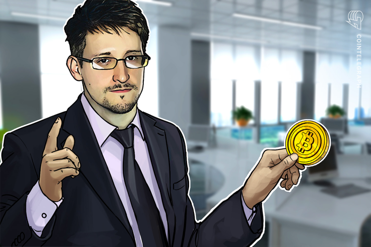 Snowden says that the NSA is spying on Bitcoin