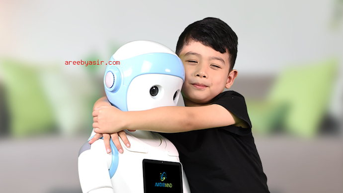Nanny robots will take care of your children. AI robots are the future.