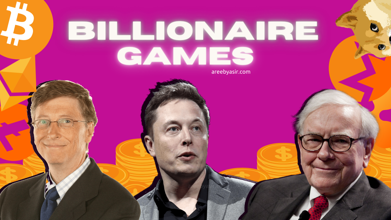 Billionaires telling the population to take their financial advice. Should you take it?